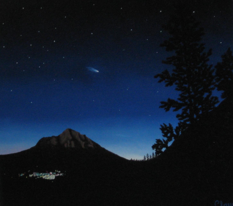 Hale-Bopp over Shasta
