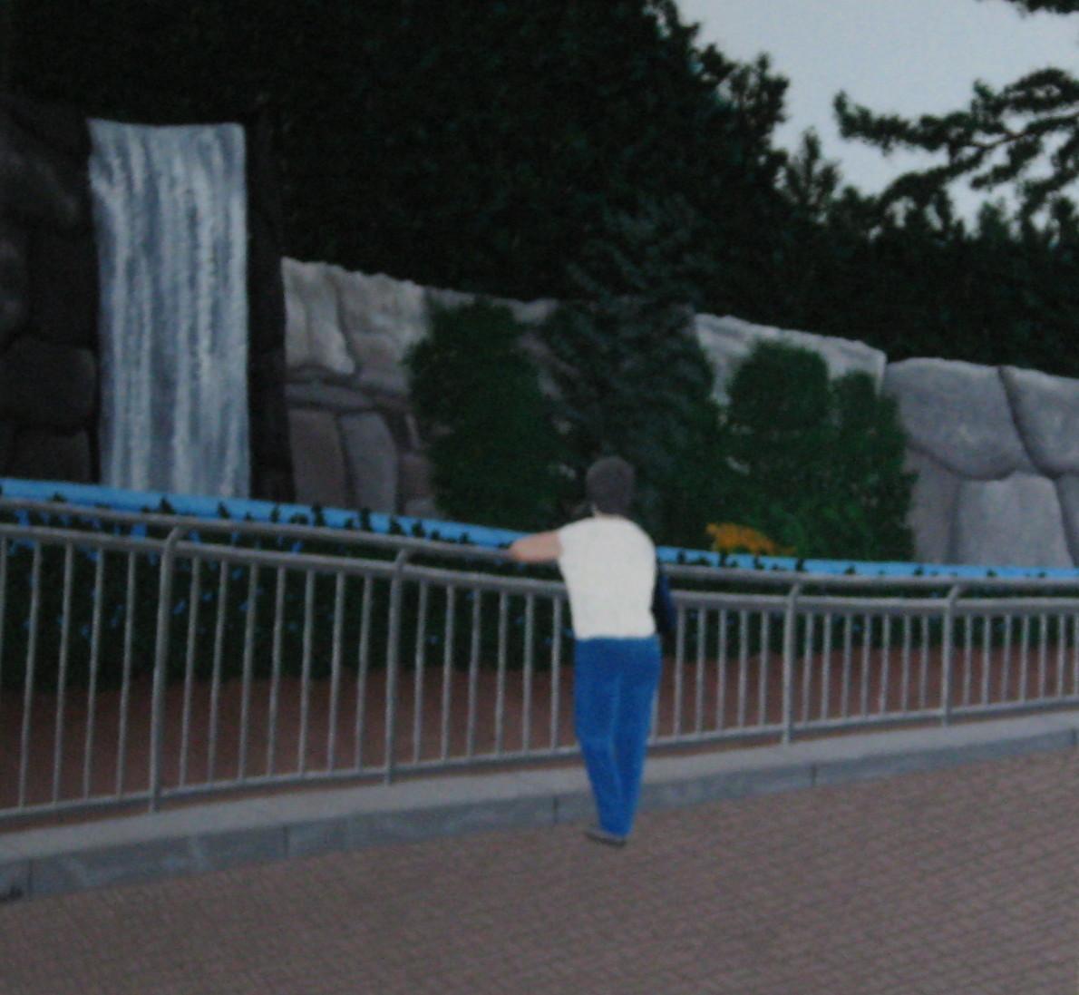 Mom at Zoo (Korea)