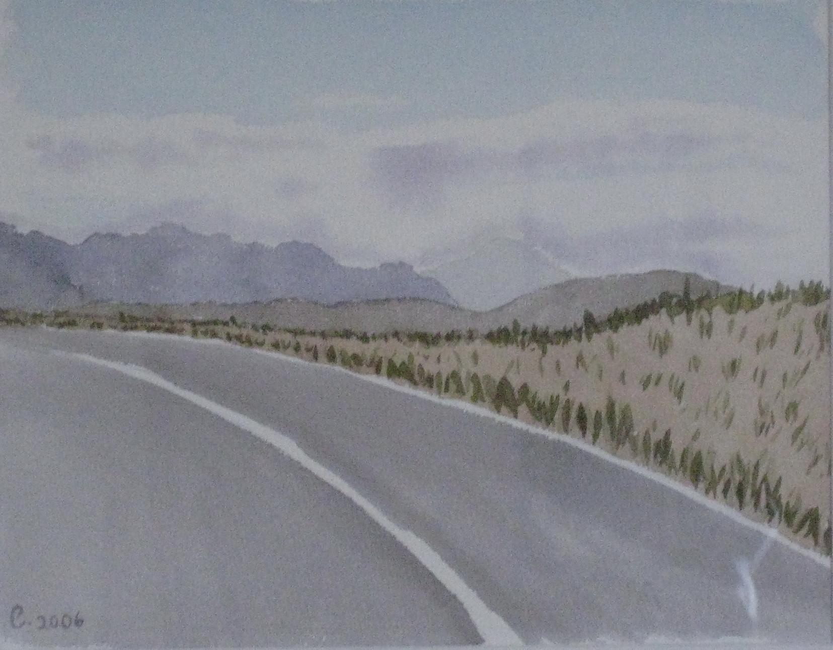California Desert Road